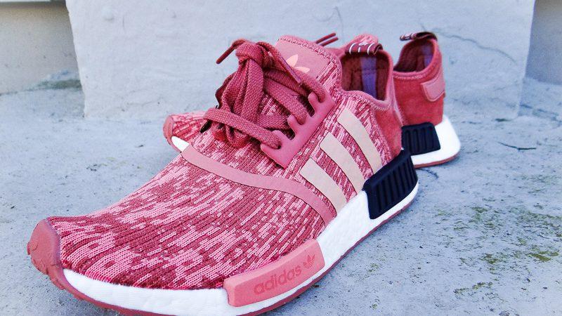 adidas Originals Damen NMD_R1 Sneakers Rosa
