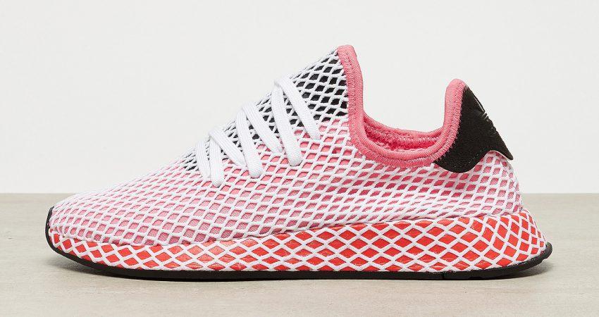 adidas Originals Deerupt Runner chalk pink-chalk pink-bold orange