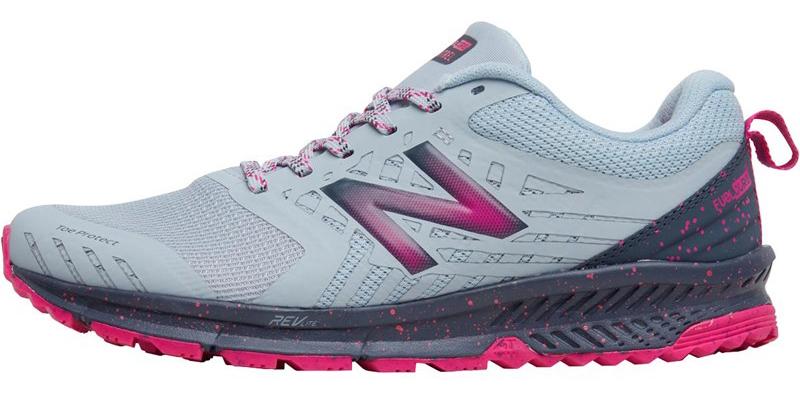New Balance Womens Nitrel Trail Running Shoes Light Porcelain Blue