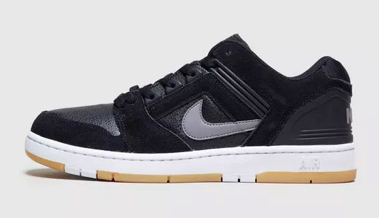Nike Air Force II Low _ Sneaker schwarz