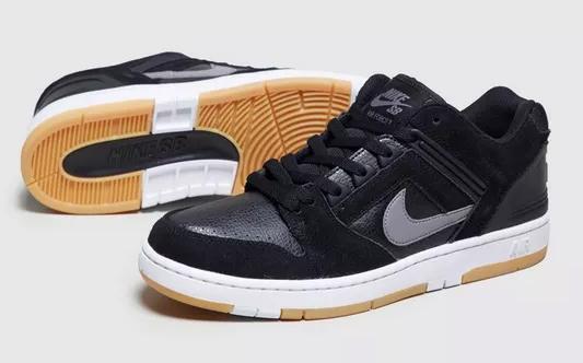 Nike Air Force II Low _ Sneaker schwarz2