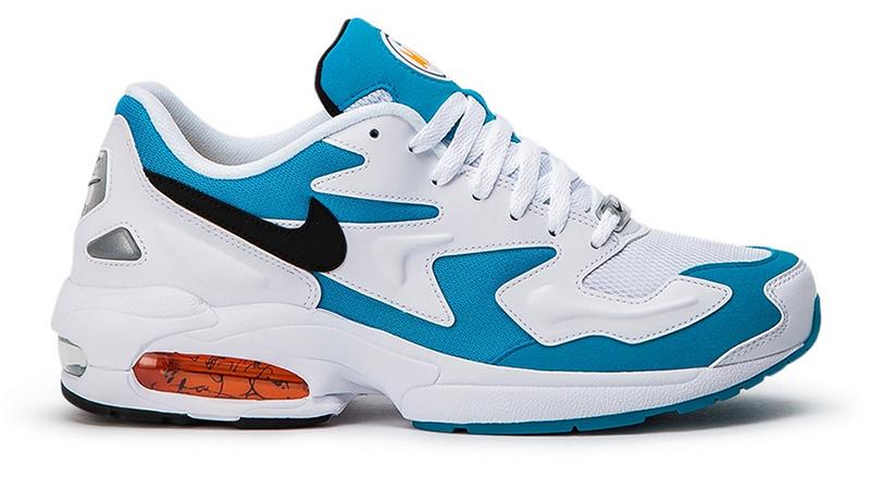Nike Air Max 2 Light ''Blue Lagoon'' (Weiß_ Türkis)