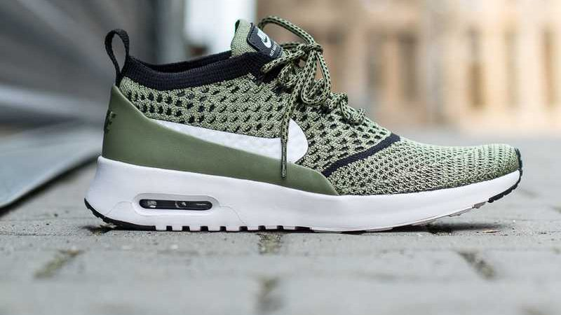 Nike Air Max Thea Ultra Flyknit 'Palm Green_White_Black'1