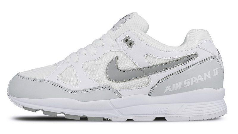 Nike Air Span II weiß - grau