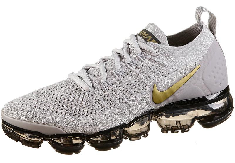 Nike Air Vapormax Flyknit 2 vast grey metallic gold pure
