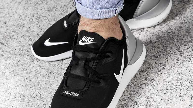 Nike Hakata `Black_White_Wolf Grey`