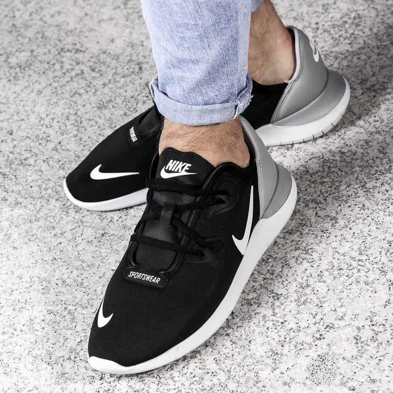 Nike Hakata `Black_White_Wolf Grey`
