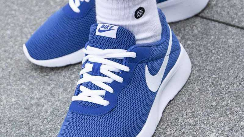 Nike Tanjun Gs 'Game Royal_White'