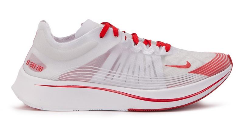 Nike Zoom Fly SP (Weiß _ Rot)