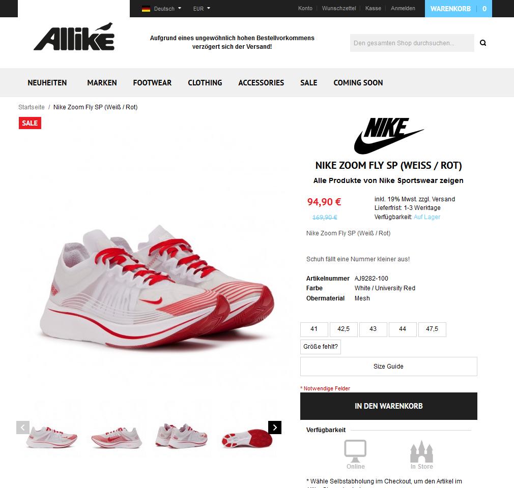 Nike Zoom Fly SP (Weiß _ Rot)3