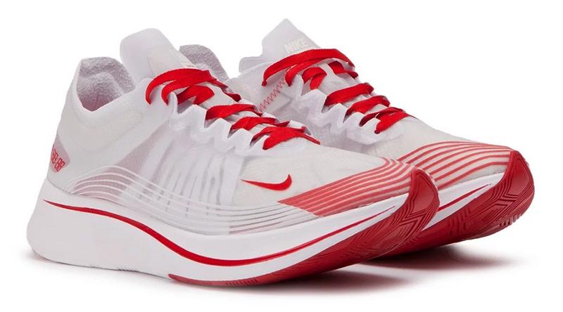 Nike Zoom Fly SP (Weiß_ Rot)2