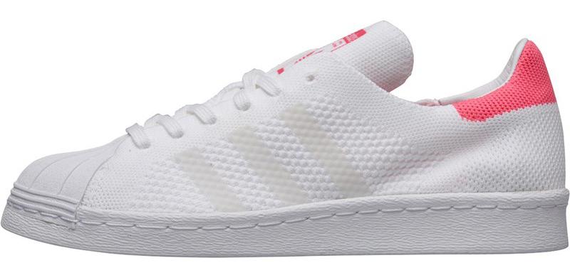 adidas originals superstar primeknit sneaker weiß