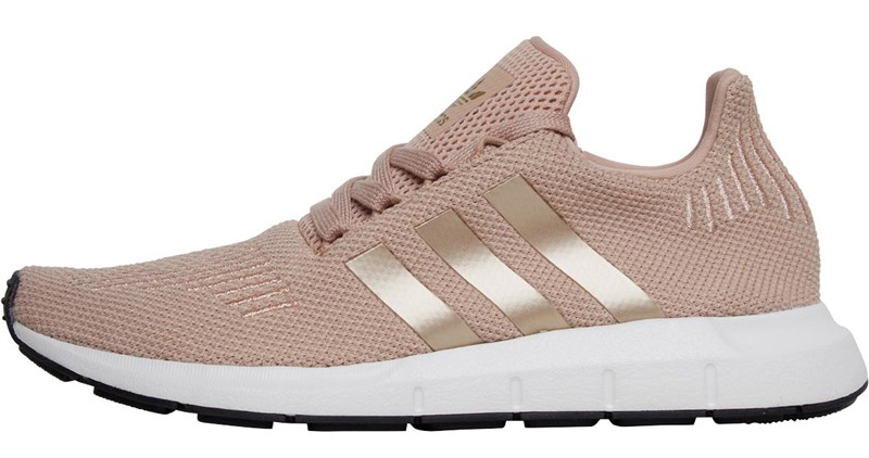 adidas Originals Damen Swift Run Sneakers Altrosa