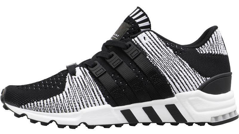 adidas Originals Herren EQT Support RF Primeknit Sneakers Schwarz