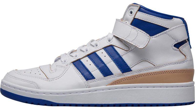 adidas Originals Herren Forum Mid Hi Tops Weiß