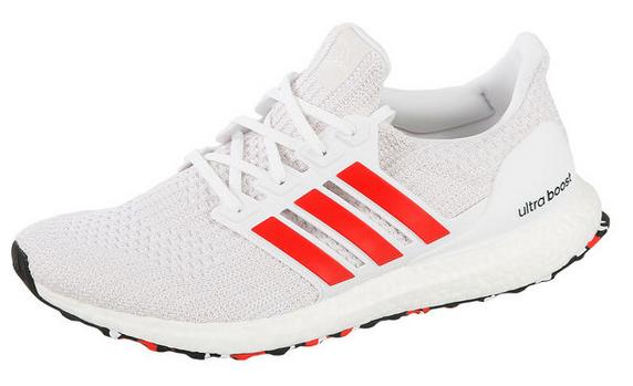 adidas Ultra Boost Neutralschuh Herren - Weiß, Rot