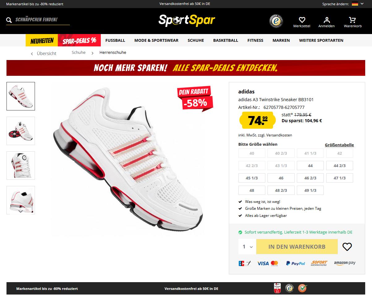adidas A3 Twinstrike Sneaker3